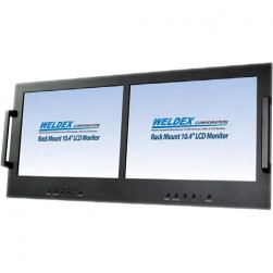 "Weldex WDL-1040M2R 10.4"" Color Dual TFT LCD Monitor"