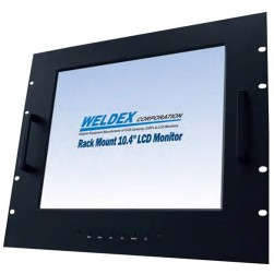 Weldex WDL-1040MR 10.4-in LCD w/Accs, 400 NIT Rating w/ Rack Mt