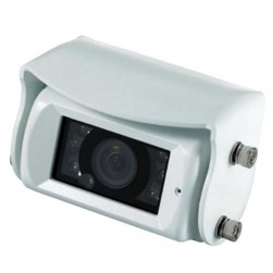 Weldex WDRV-7925C-FX Compact Color Back-up Camera White Housing