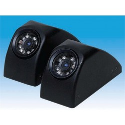 Weldex WDRV-3478C-LT Color IR LED Weatherproof Side View Camera, Left