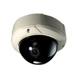 Weldex WDD-2977C 2 Megapixel Outdoor Day/Night Vandal-proof Network Dome Camera, 3-9mm Lens