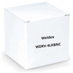 Weldex WDRV-4LKBNC 4 PIN DIN to BNC Adapter Cable