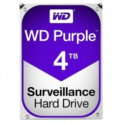 Western Digital WESD-WD40PURX HD WD 4TB Purple Surveillance Hard Drive