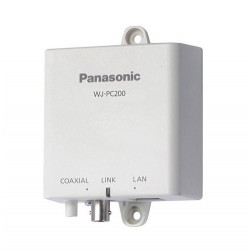 Panasonic WJ-PC200 1 Channel Coaxial - LAN Converter- Camera Side Unit
