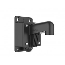 Hikvision WMSB Short Wall Camera Mount with Junction Box, Black