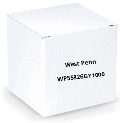 West Penn WP55826GY1000 Digital Integration CAT 5 Cable Gray 1000 ft