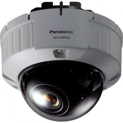 Panasonic WV-CW634F Flush Mount Vandal Proof Fixed Dome Analog Camera