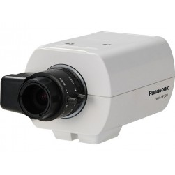 Panasonic WV-CP300 650 TVL analog Indoor Box Camera, NTSC, No Lens