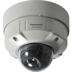 Panasonic WV-S2531LN 3MP Dome Network IP Camera - 2.8-10mm Lens