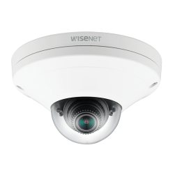 Samsung XNV-6011W X Series 2 Megapixel Vandal Network Dome Camera, 2.8mm Lens, White
