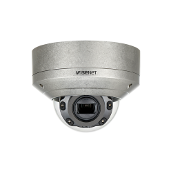 Samsung XNV-6080RS 2 Megapixel Stainless Vandal Resistant Network IR Dome Camera, 2.8-12mm Lens
