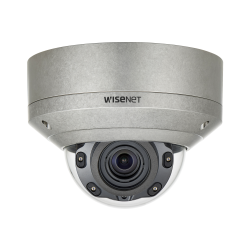 Samsung XNV-8080RS 5 Megapixel Stainless Vandal Resistant Network IR Dome Camera, 3.9-9.4mm Lens