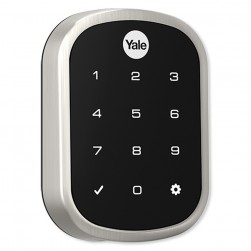 Yale YRD256ZW2-619 Z-Wave Plus SL Key Free Touchscreen Deadbolt Assure Lock, Satin Nickel