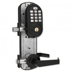 Yale YRC216ZW2NW50BP Assure Lock Interconnected Lockset with Push Button, Oil Rubbed Bronze