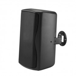 "Bosch ZX1I-100T 8"" 2-Way Indoor/Outdoor Installation Speaker with 70V/100V Transformer, Black"