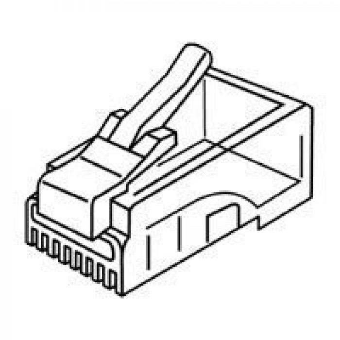 106148J, Platinum Tools Cable Connectors