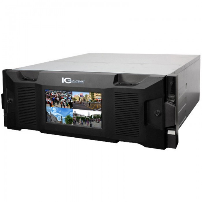 NVR-8256DR-52TB, ICRealtime Network Video Recorder