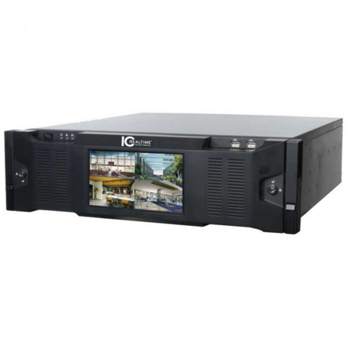 NVR-8128K-DR-36TB, ICRealtime Network Video Recorder