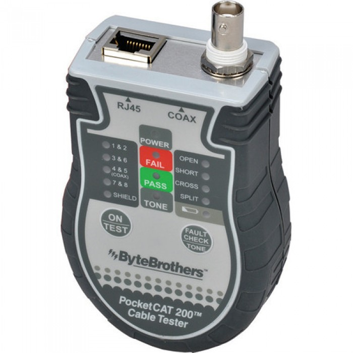 Byte Brothers CTX200 Pocket CAT5/6 Coax Tester