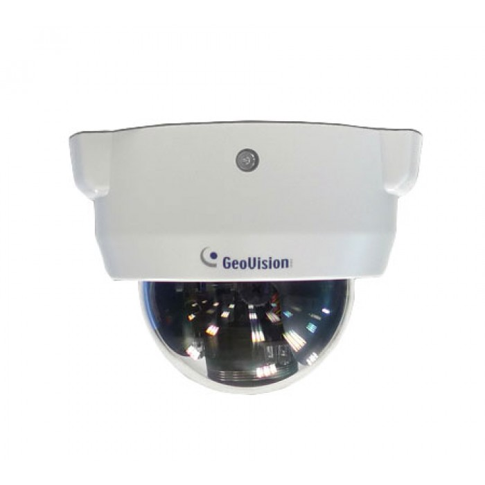 Geovision GV-FD3400 3MP, H.264 WDR IP IR Dome Camera, 3-9mm Varifocal