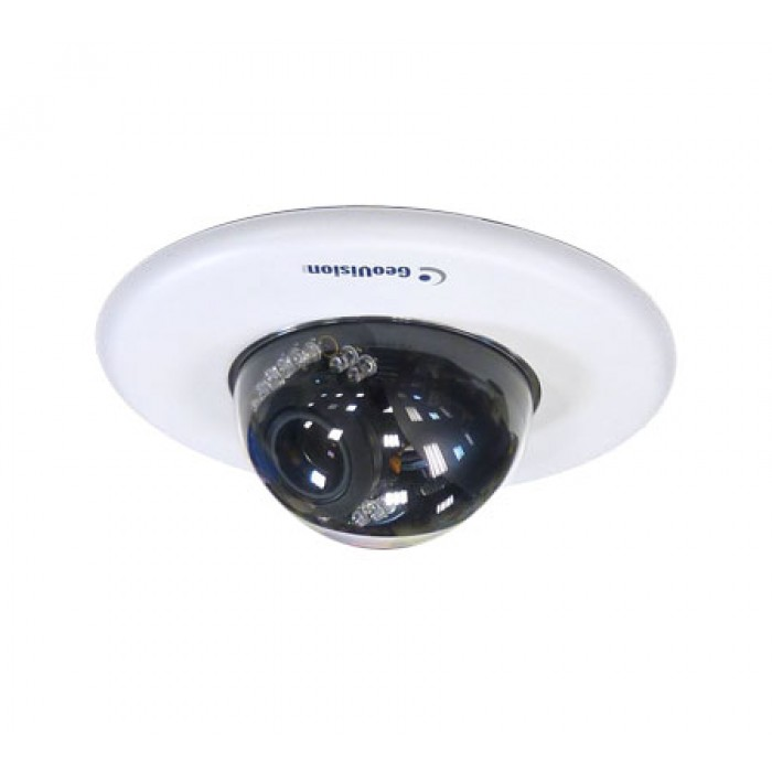 Geovision GV-FD3400 3MP, H.264 WDR IP IR Dome Camera, 3-9mm Varifocal In-Ceiling Mount