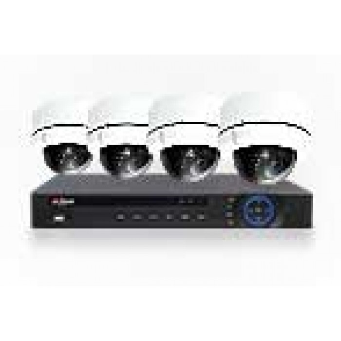 Dahua 4 Channel Surveillance Kit with 4 Pan/Tilt/Zoom Cameras- 1TB HDD