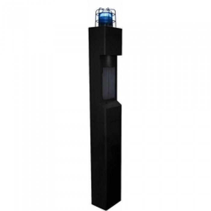 Aiphone TW-20K 2-Module Mid Level Tower, Black