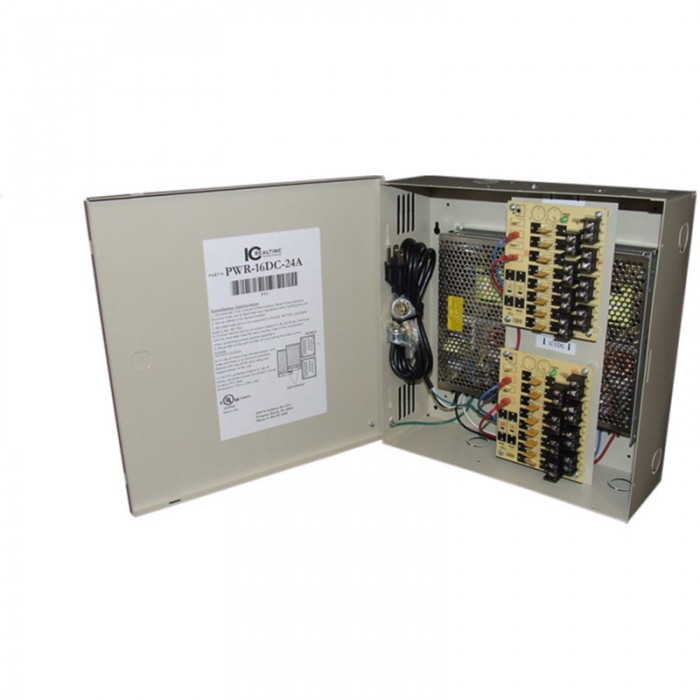 PWR-16DC-24A, ICRealtime Power Supply