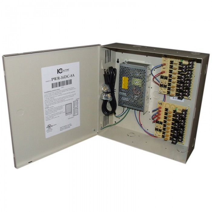 PWR-16DC-8A, ICRealtime Power Supply