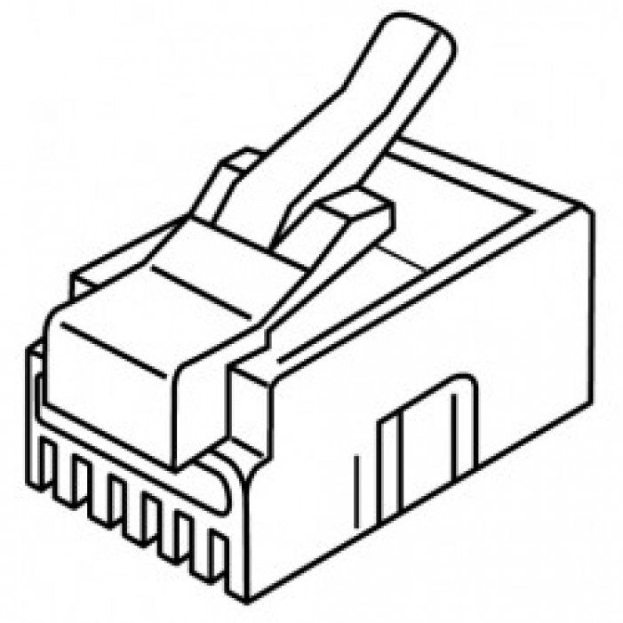 106127C, Platinum Tools Cable Connectors