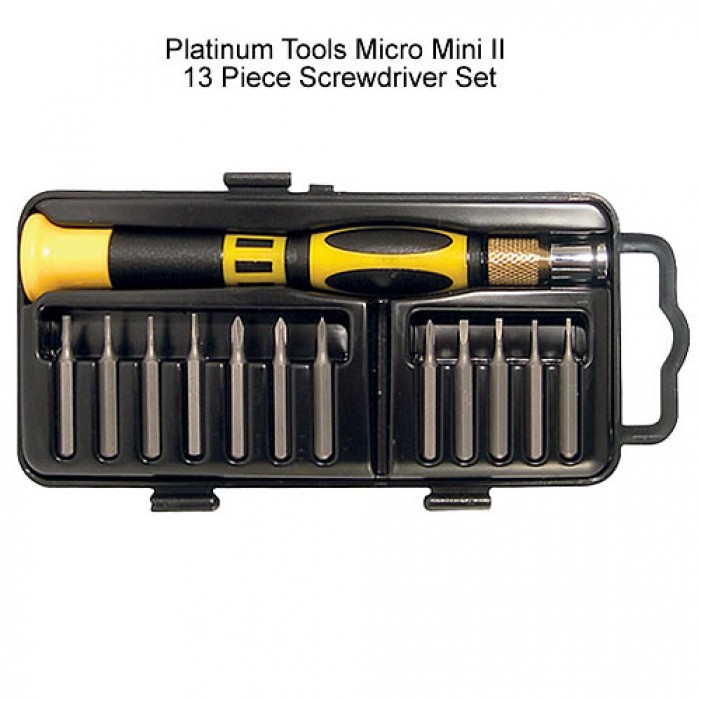 19103, Platinum Tools Screwdriver Set