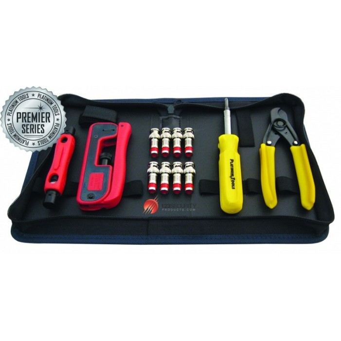 90202, Platinum Tools Cable Termination Kit