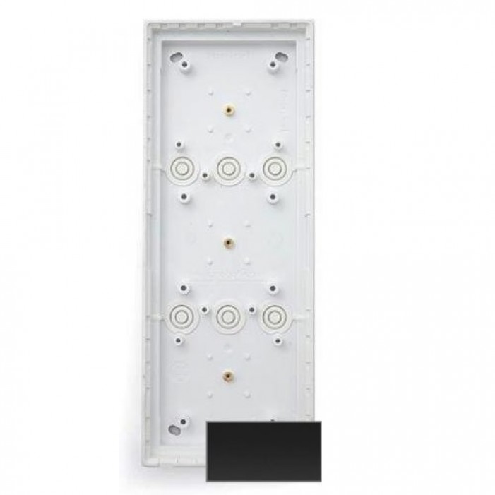 MOBOTIX MX-OPT-BOX-3-EXT-IN TRIPLE IN-WALL MOUNT FOR T24 IP VIDEO DOOR STATION