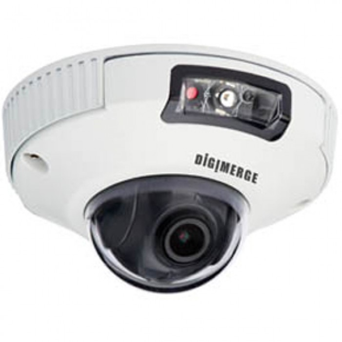 3.6mm Digimerge DND13TL2 2.1MP Full HD Outdoor D//N IP Vandal Dome