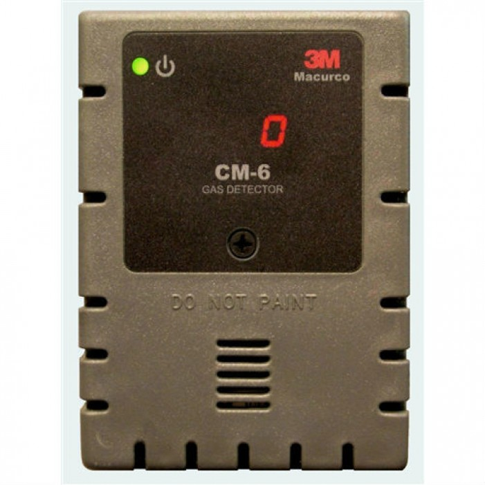 Macurco CM-6 CO Fixed Gas Detector Controller & Transducer