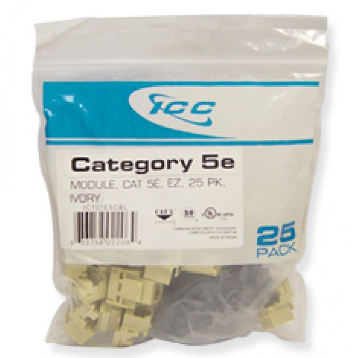ICC IC107E5CIV CAT 5e Jacks