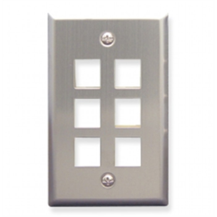 ICC IC107SF6SS Faceplate