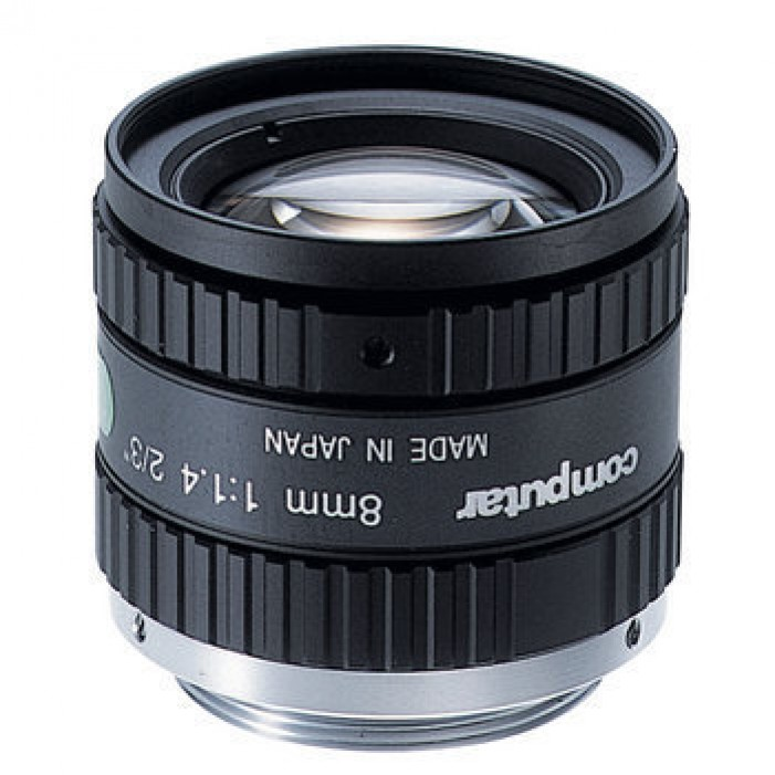 M0814-MP2, Computar Monofocal Lenses / Machine Vision Lenses