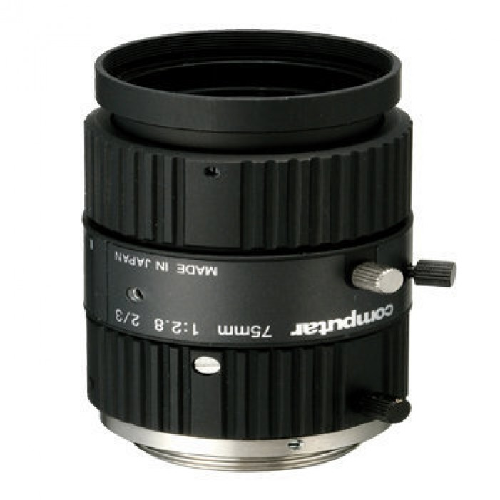 M7528-MP, Computar Monofocal Lenses / Machine Vision Lenses