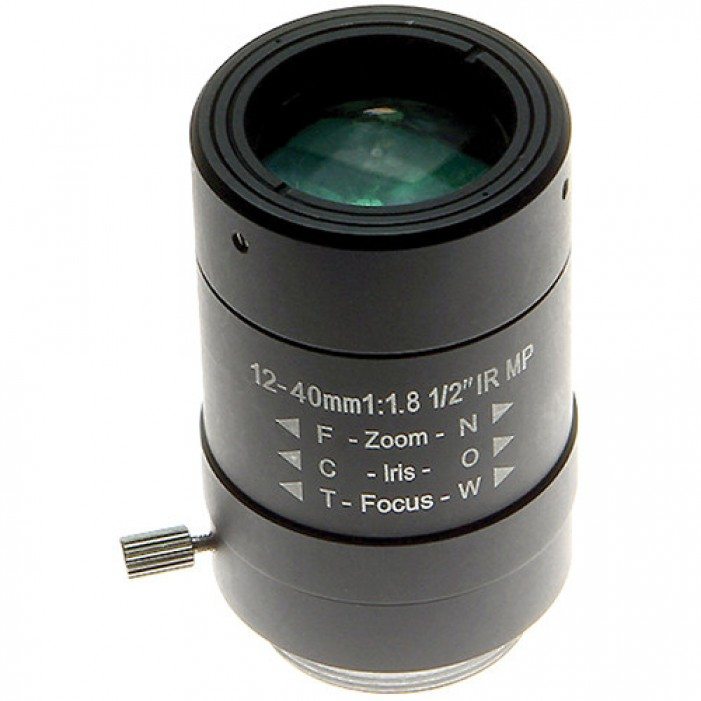 Arecont Vision MPL12-40 12-40mm Manual Iris Varifocal Lens
