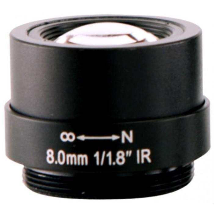 Arecont Vision MPL8.0 8mm, 1/8 in., f/1.8, Monofocal Lens