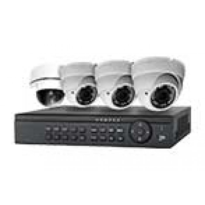4 Camera Video Surveillance Kit