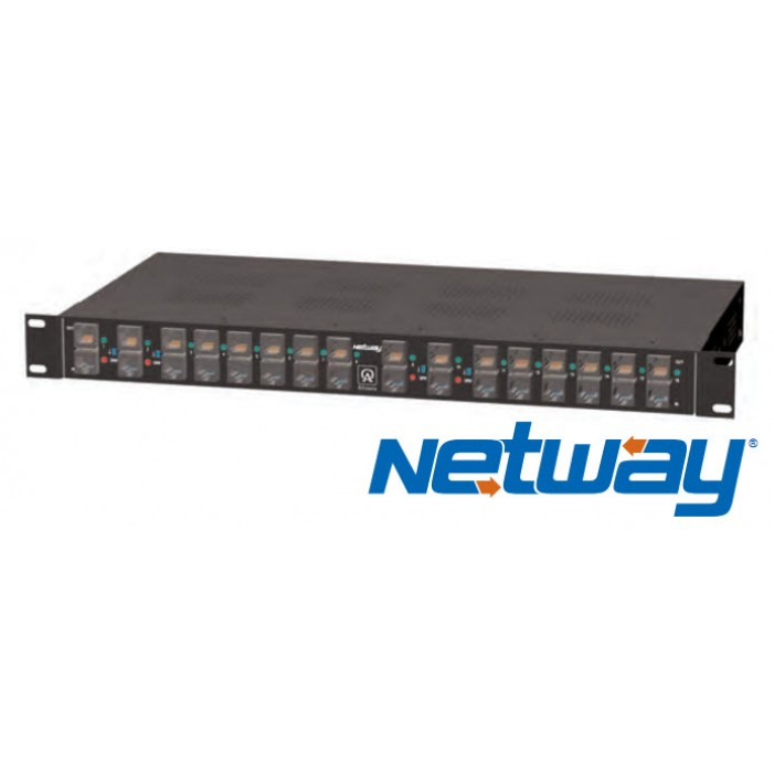 NetWay16, Altronix Power over Ethernet / PoE Midspans