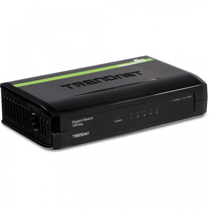 TRENDnet TEG-S5G 5-port Gigabit GREENnet Switch