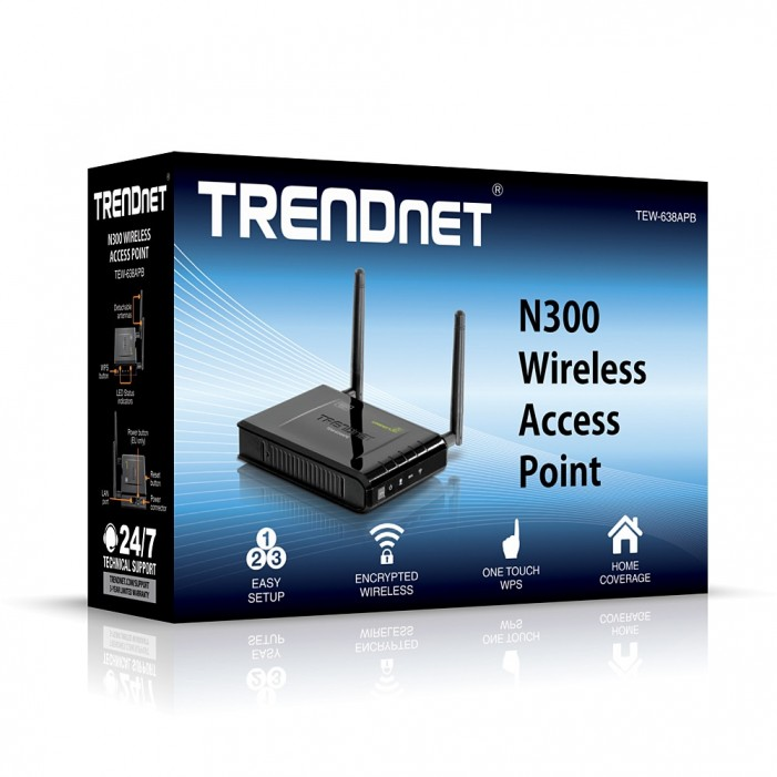 TRENDnet TEW-638APB 300Mbps Wireless N Access Point