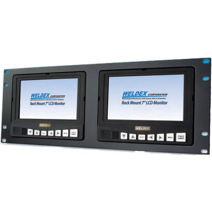 WDL-7172M2R, Weldex Rack Mount LCDs