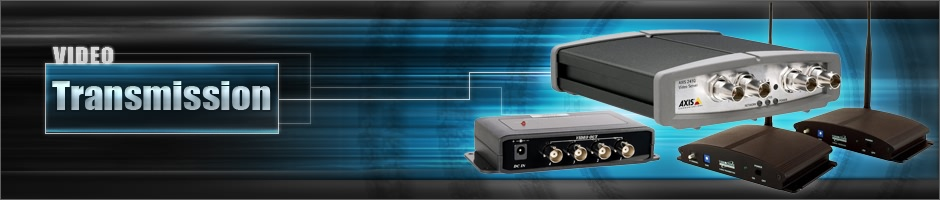 Shop our selection of surveillance camera system video transmission products from 123 Security Products