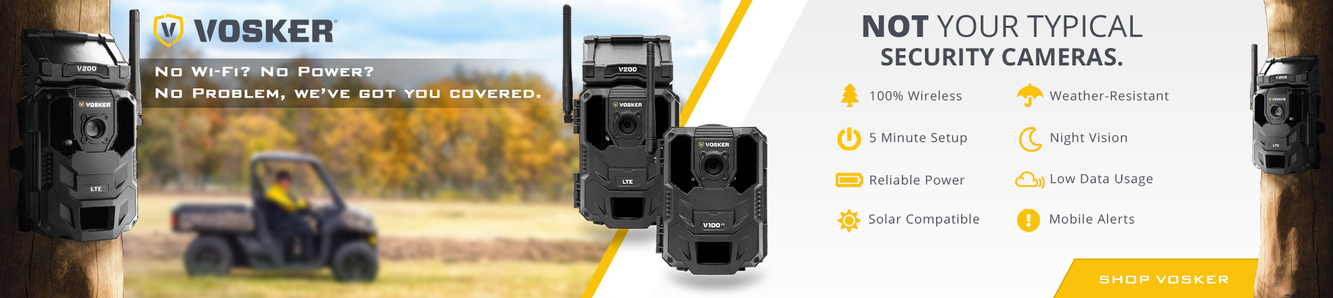 Vosker Wireless Cameras